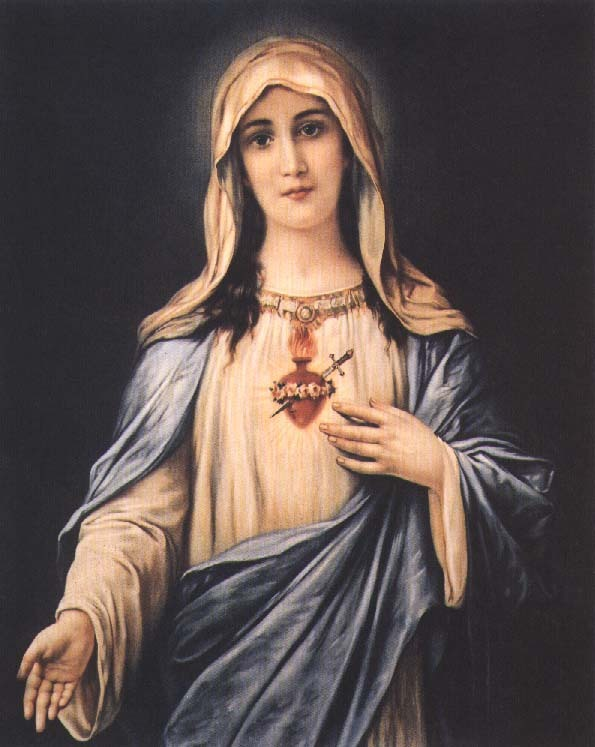 immaculate heart of mary - trad - variation