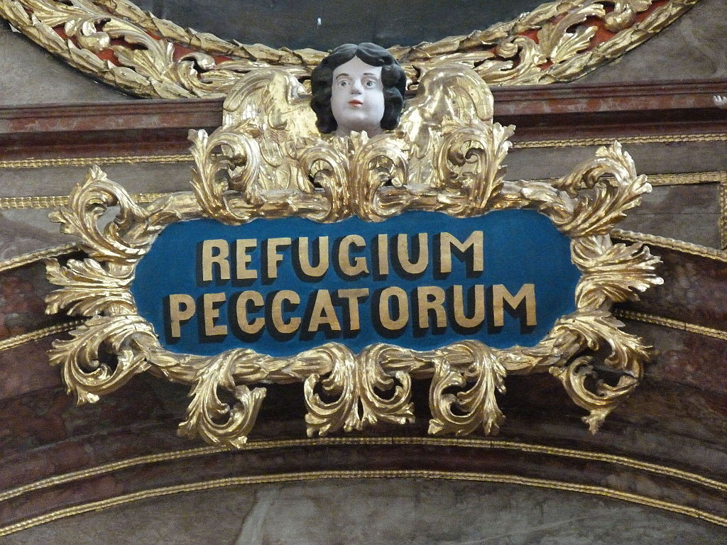 refugium peccatorum our lady refuge of sinners