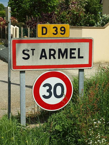 Saint-Armel-FR-35-panneau_d'agglomération-01