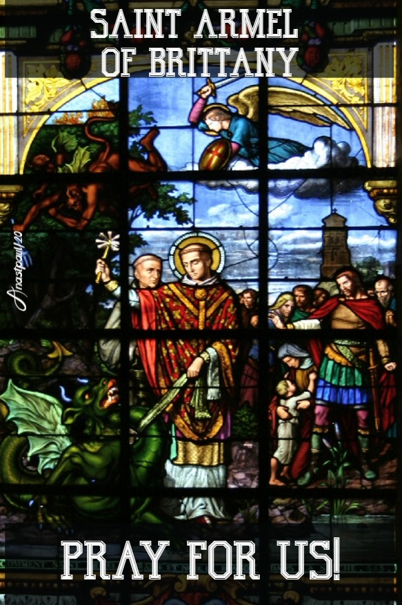 st armel of brittany pray for us 16 aug 2020