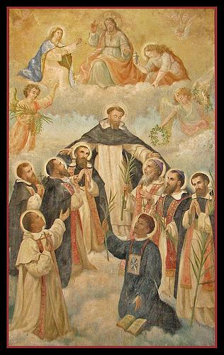 st dominic and saints