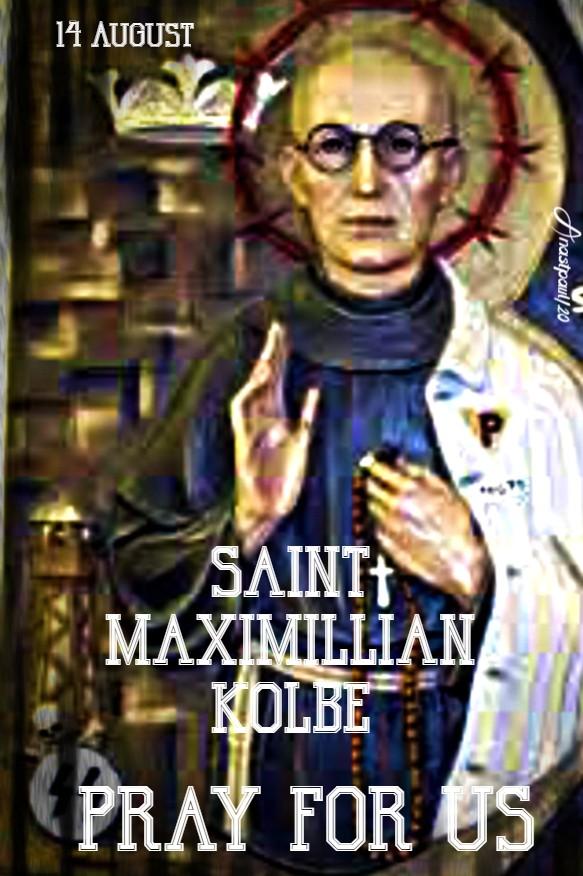 st max pray for us 14 aug 2020