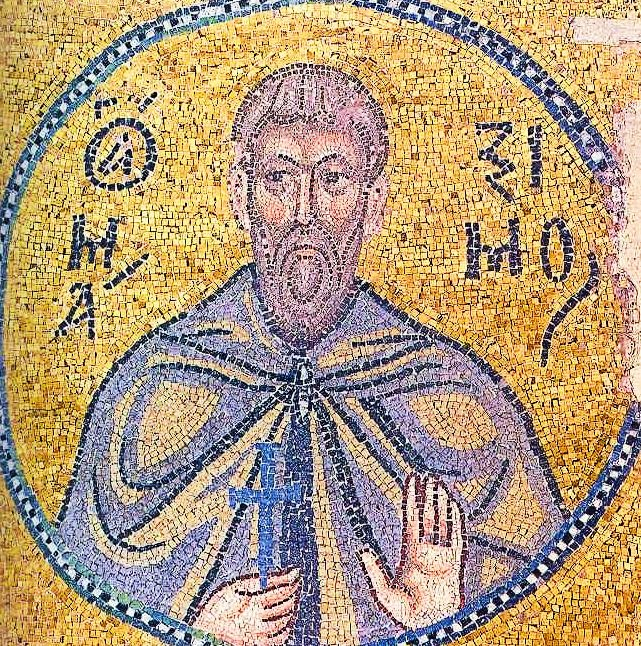 st Maximus_the_Confessor_mosaic