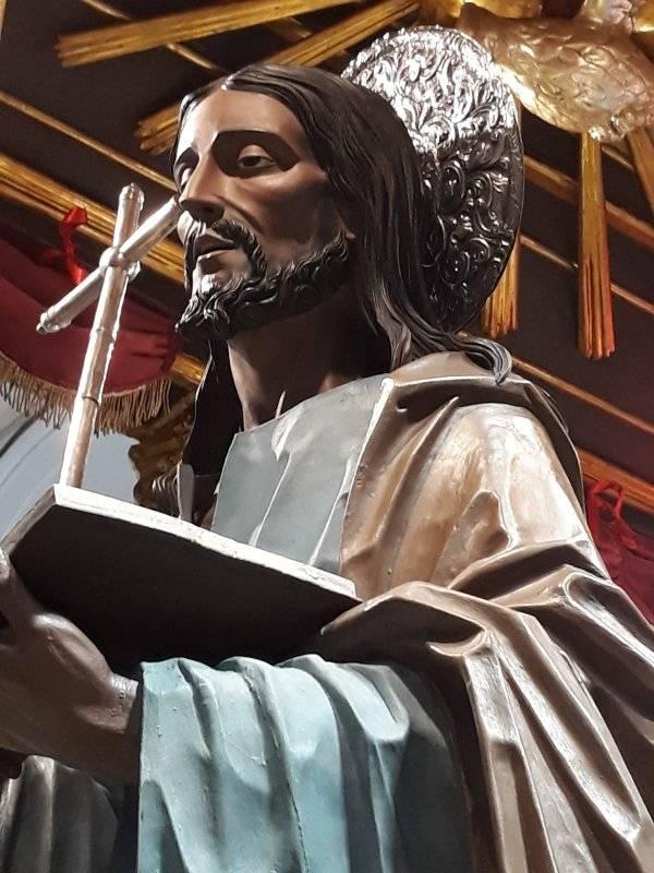 st nicolo politi beautiful statue